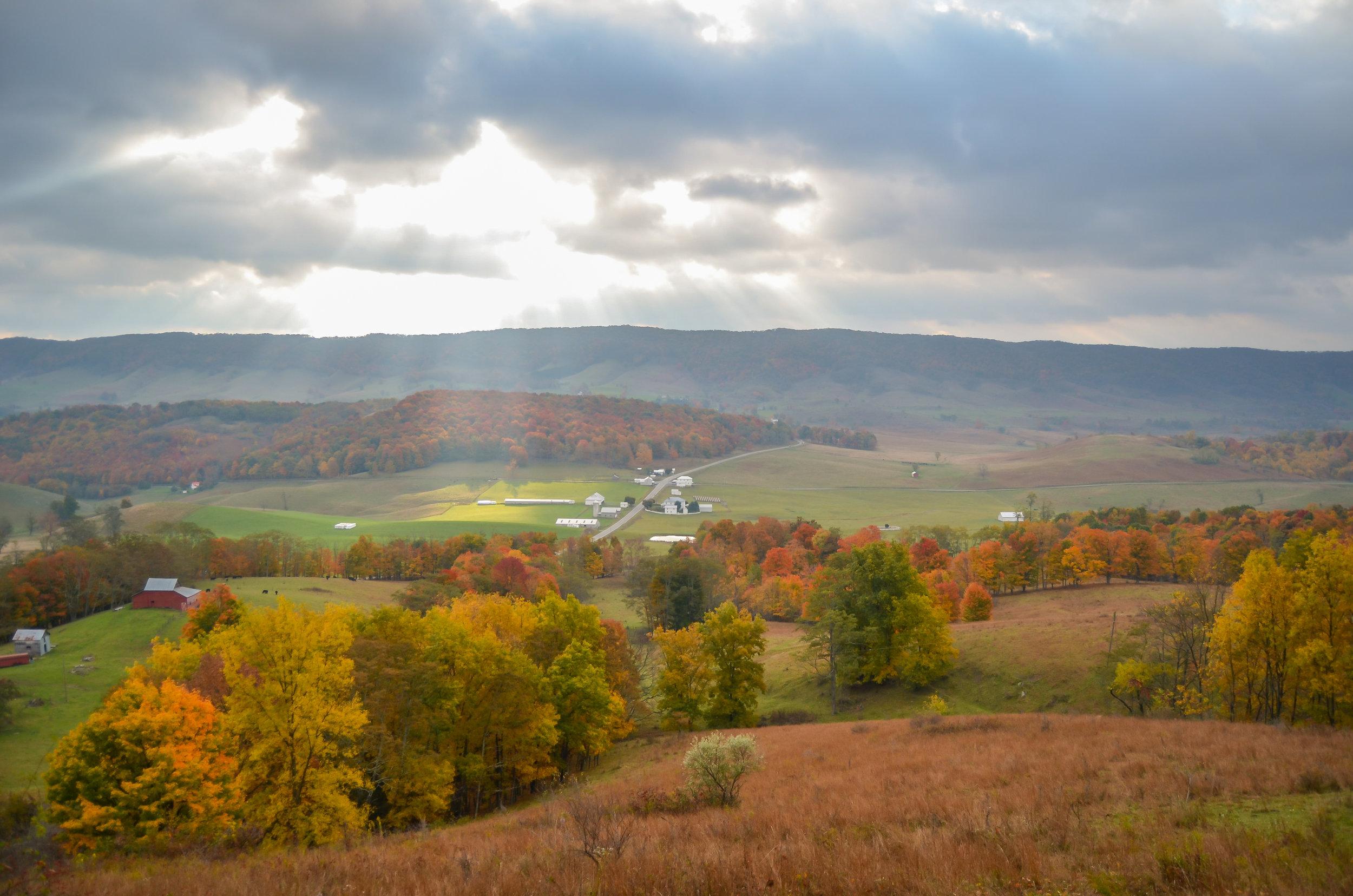 hightown-sun rays-fall-autumn-highland county-virginia.jpg