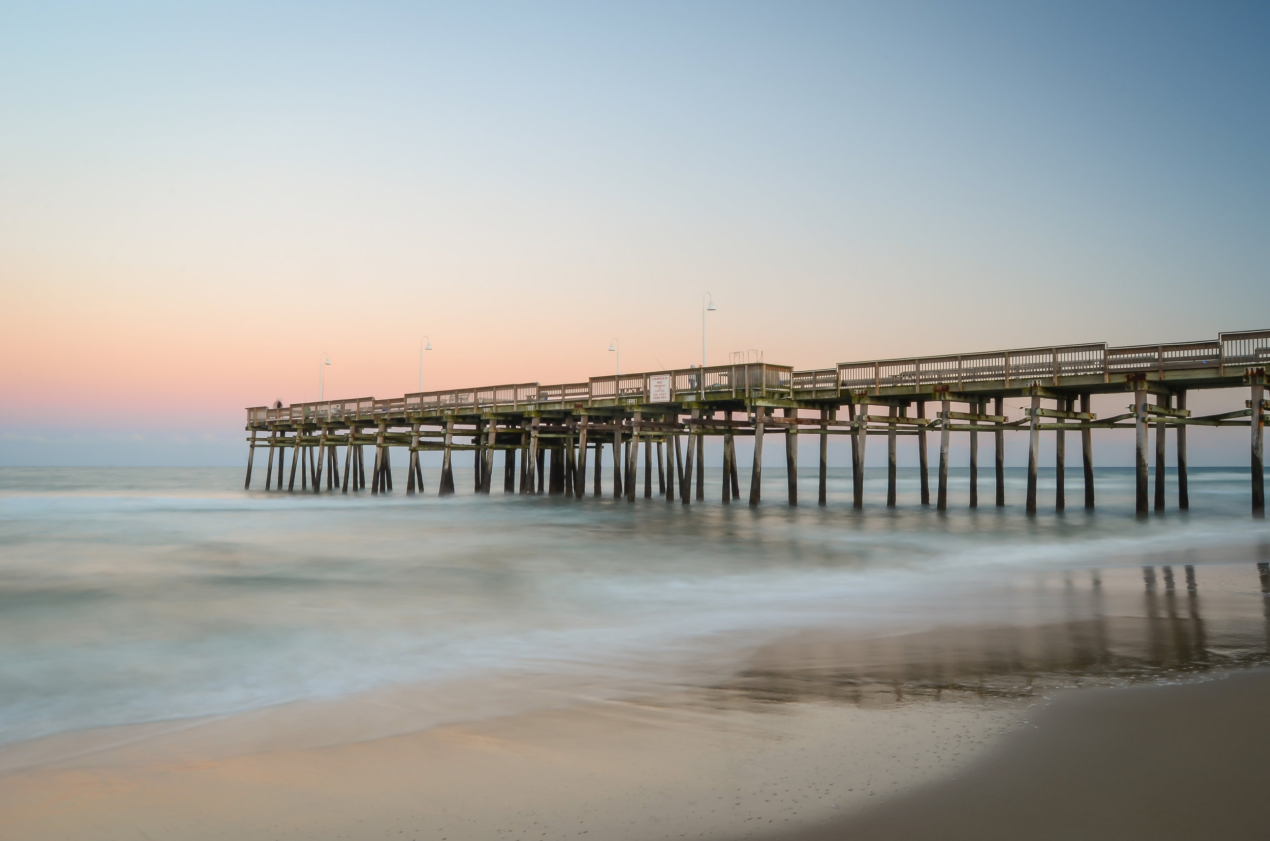 sandbridge pier-virginia beach-virginia-dusk-pastel.jpg