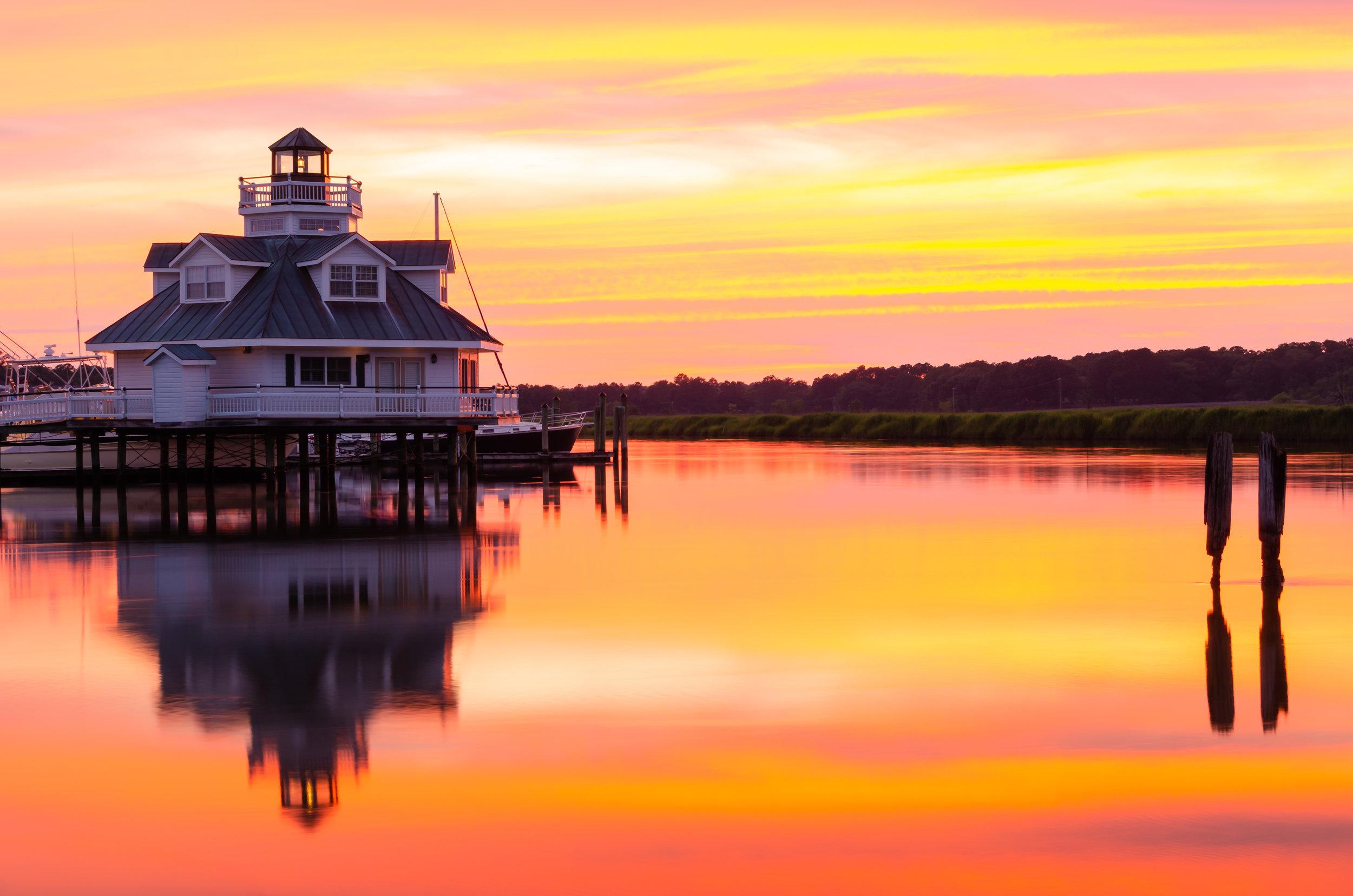 Smithfield-Virginia-Sunset-Water-reflection-3.JPG