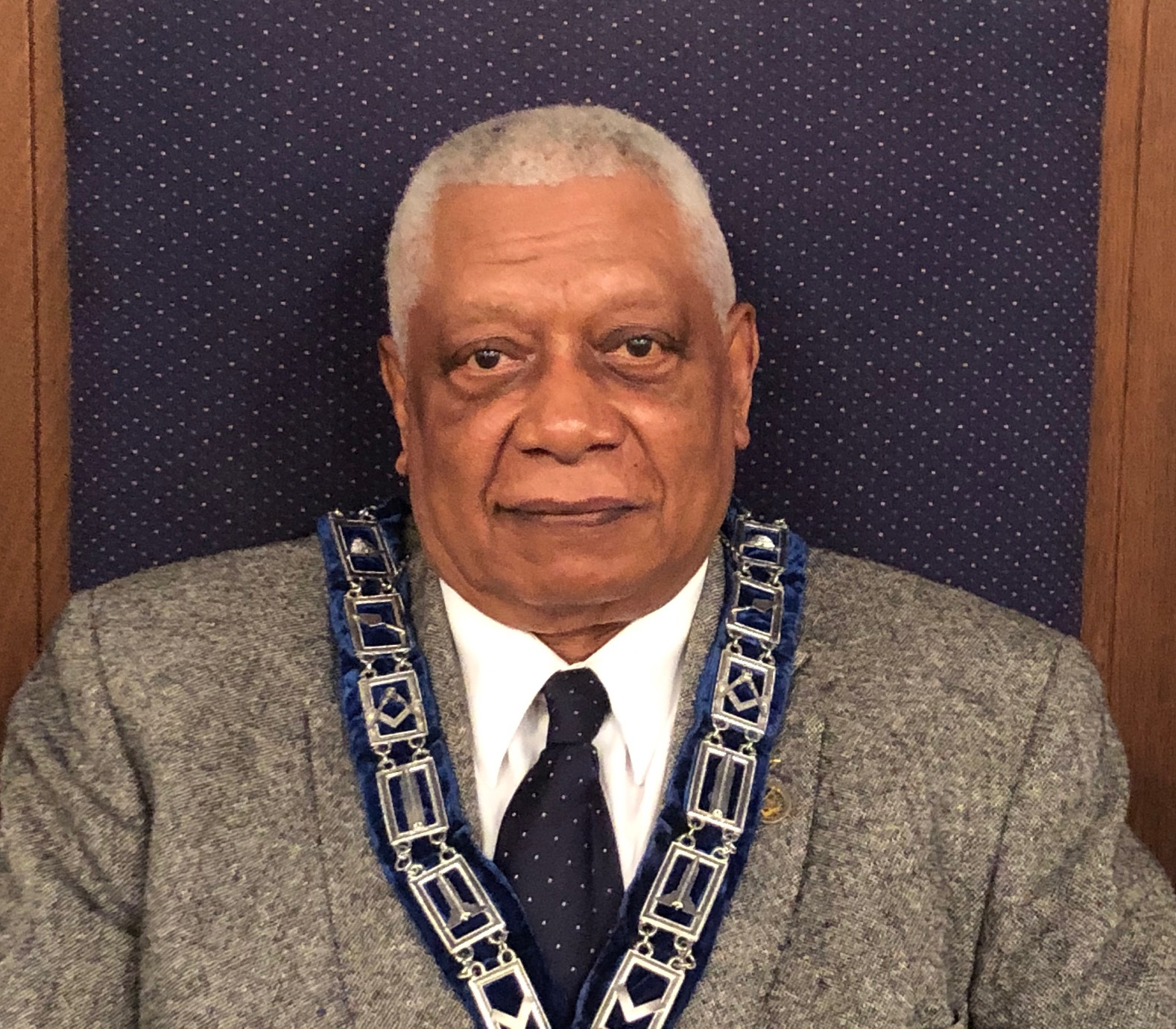 Maurice Hill - Aide to the Worshipful Master