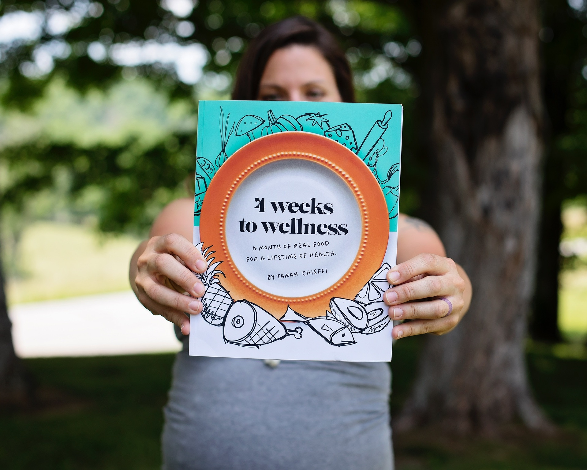 4 Weeks to Wellness Book
