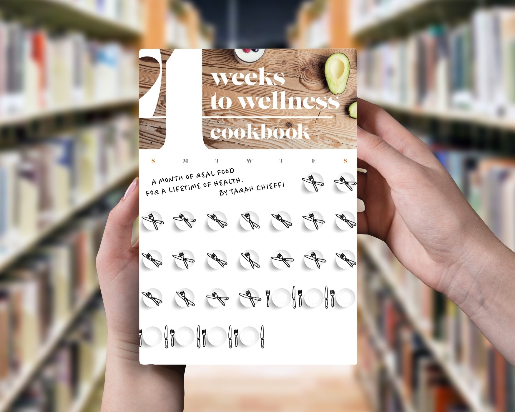 The 4 Weeks to Wellness Cookbook Cover