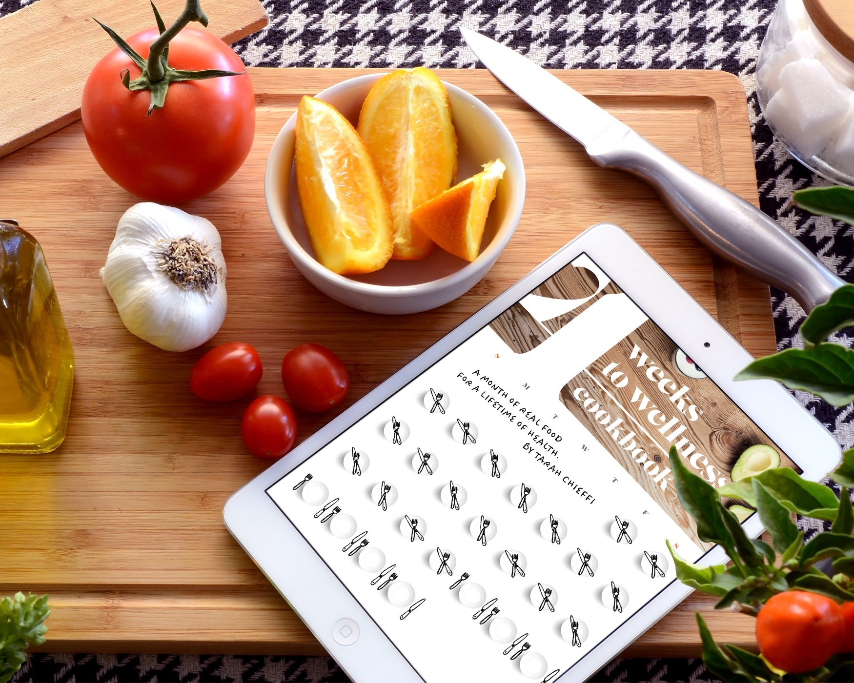 The 4 Weeks to Wellness Cookbook Ipad