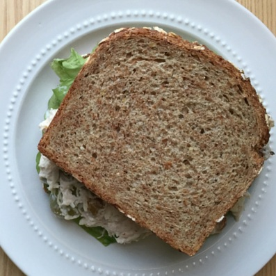 Greek Yogurt Napa Chicken Salad Sandwich