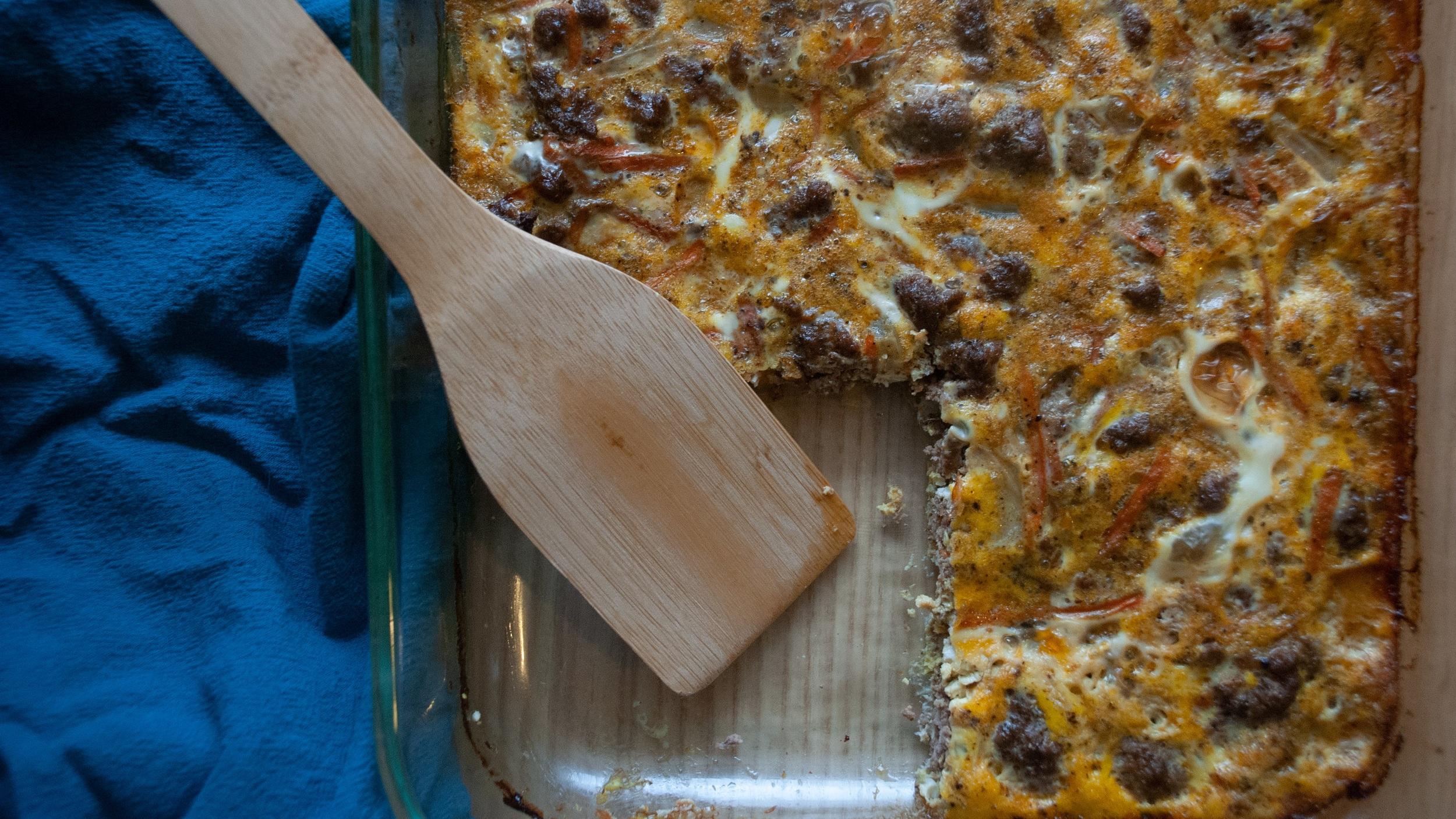 Taco Breakfast Casserole