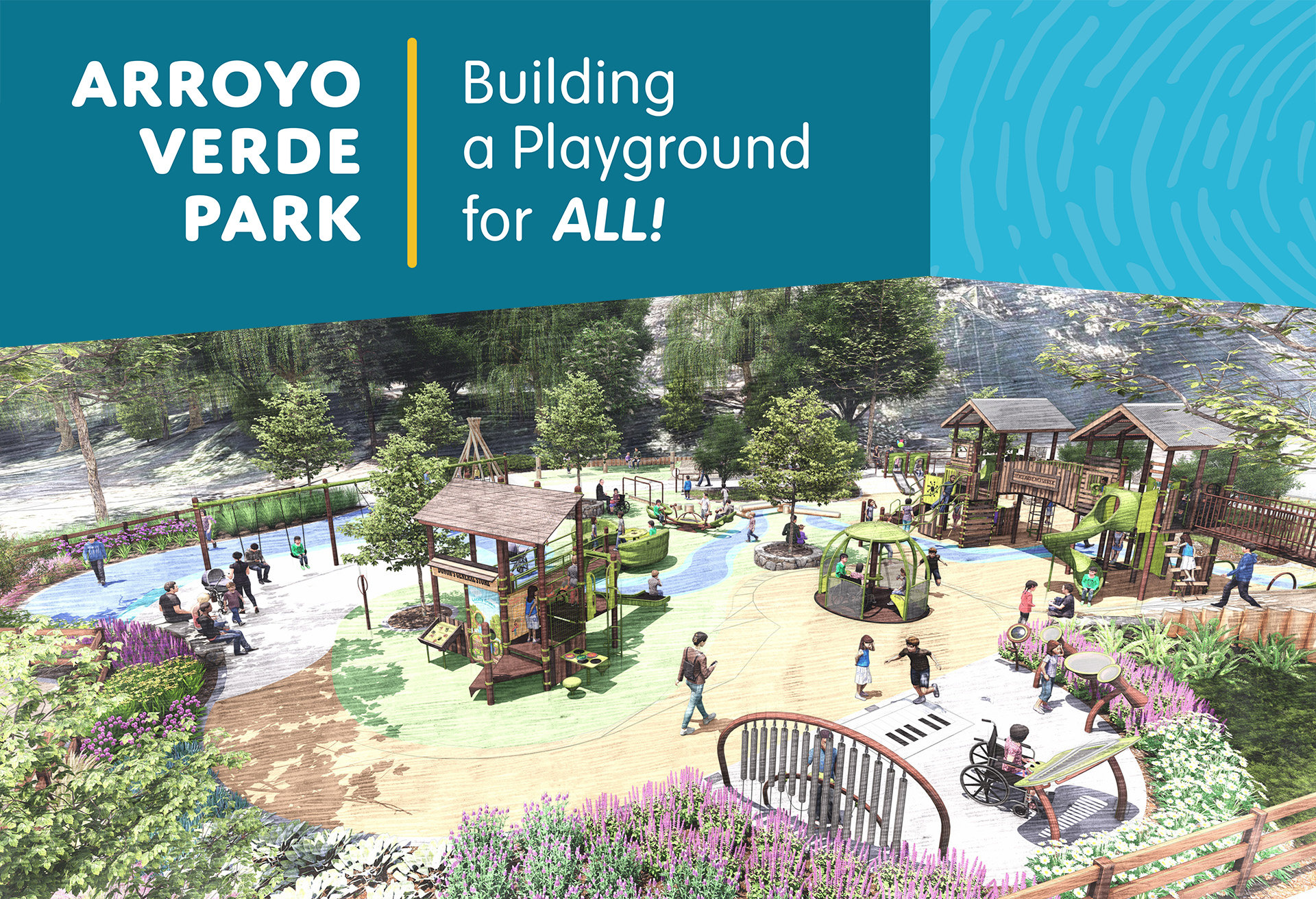 Arroyo Verde Park Playground Rebuild - Help us rebuild the playground that was destroyed during the Thomas Fire and create a new inclusive playground.