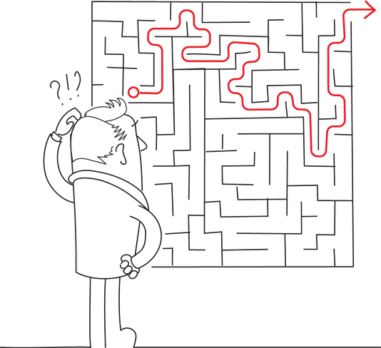 "<span style=""color: #282828;"">There's always a way out of the maze, but when you're overwhelmed you don't even have time to look for it.</span>"