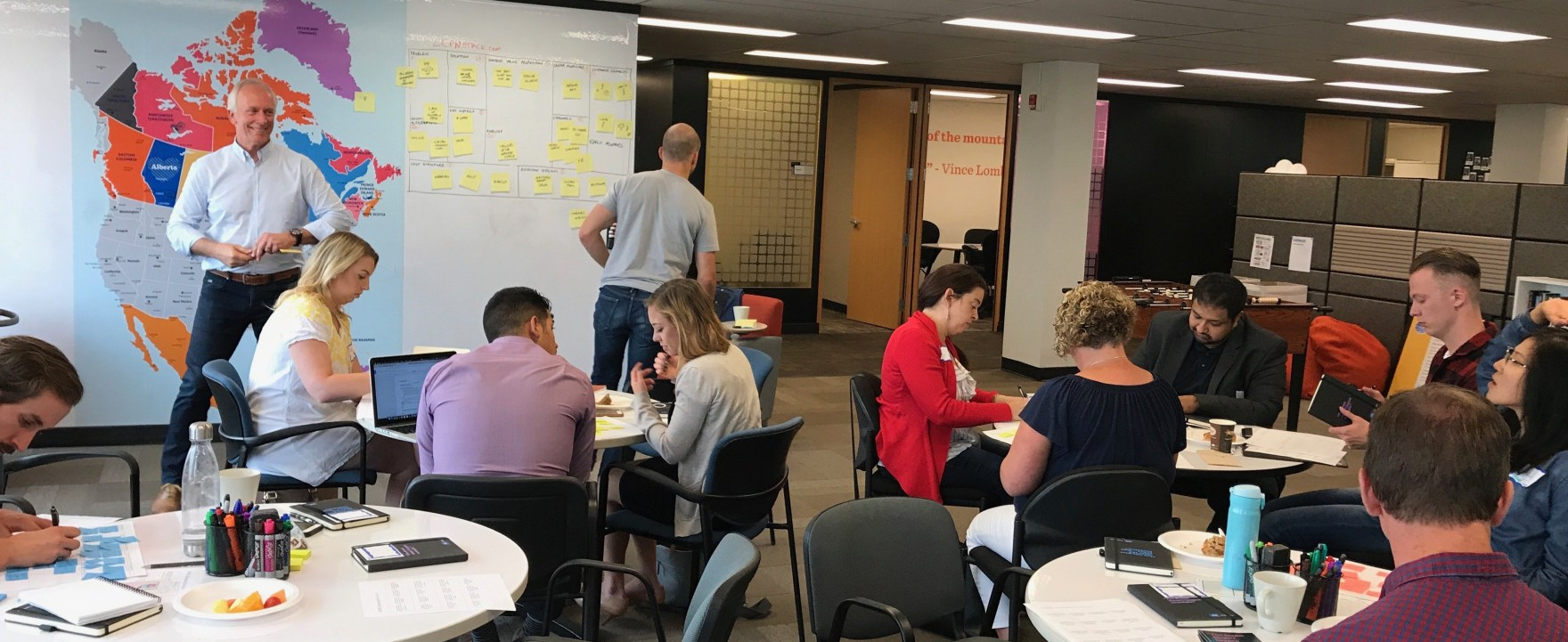 September 2017. I'm running a Lean Canvas workshop for a startup bootcamp hosted by one of the local banks. I love the startup scene – there's an incredible amount of energy and people get stuff done fast.