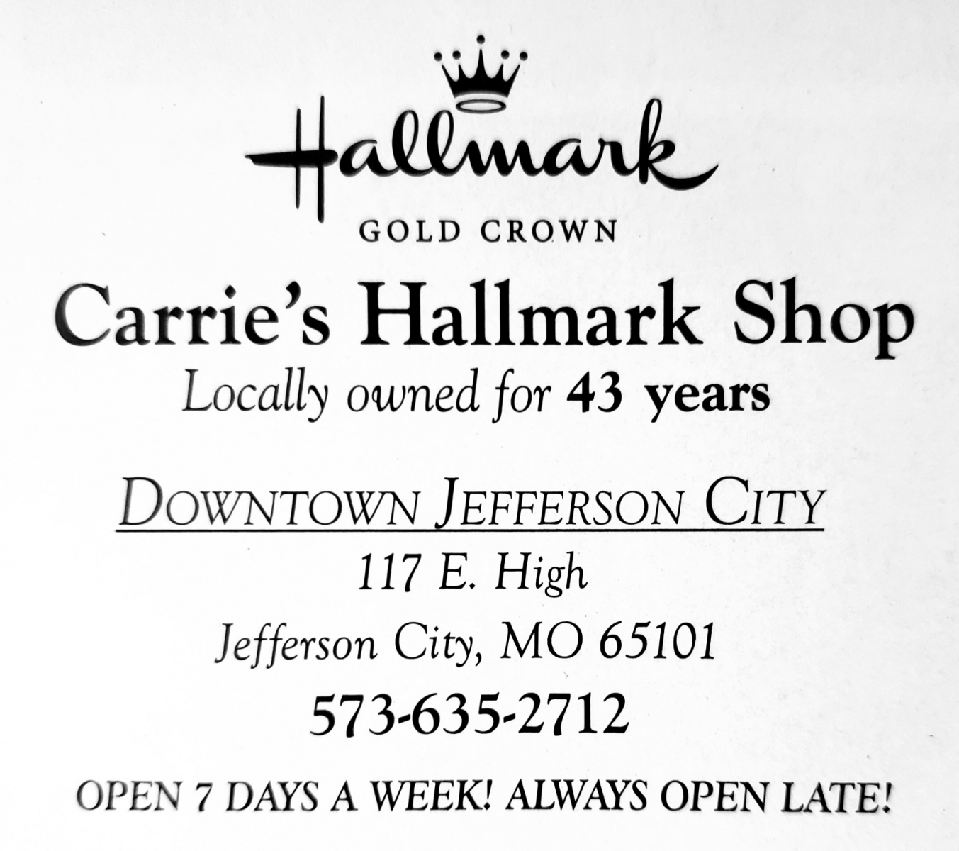 See All — JC West Side Business Association