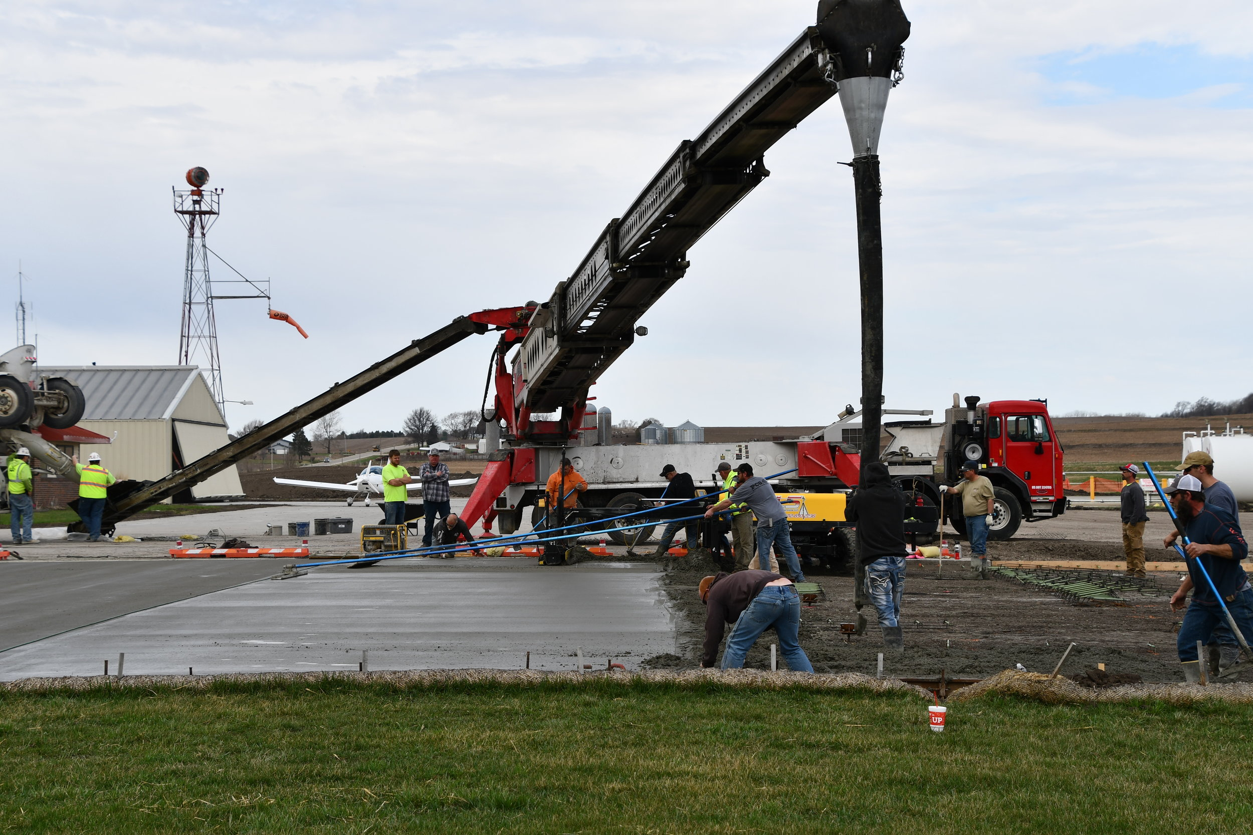 Pouring Pavement @ Atlantic Airport