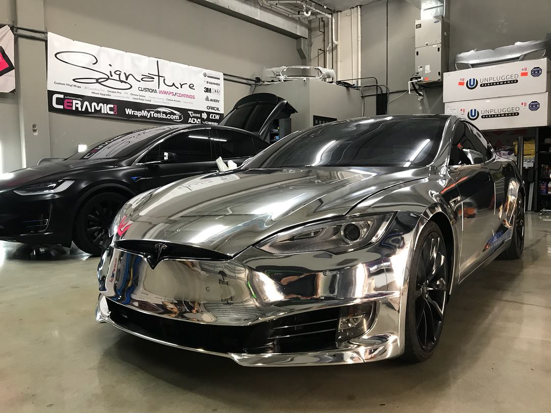 Chrome Tesla Model S.jpg