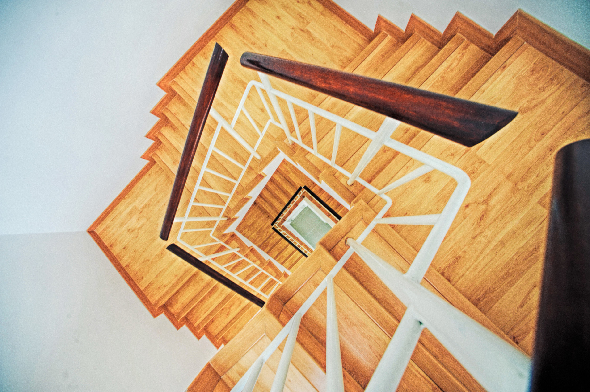 Stairs - We offer complete stair systems using either stock components or custom designed to your own personal specifications.-Handrails-Risers-Treads-Newel-Balusters-Landings & Platforms