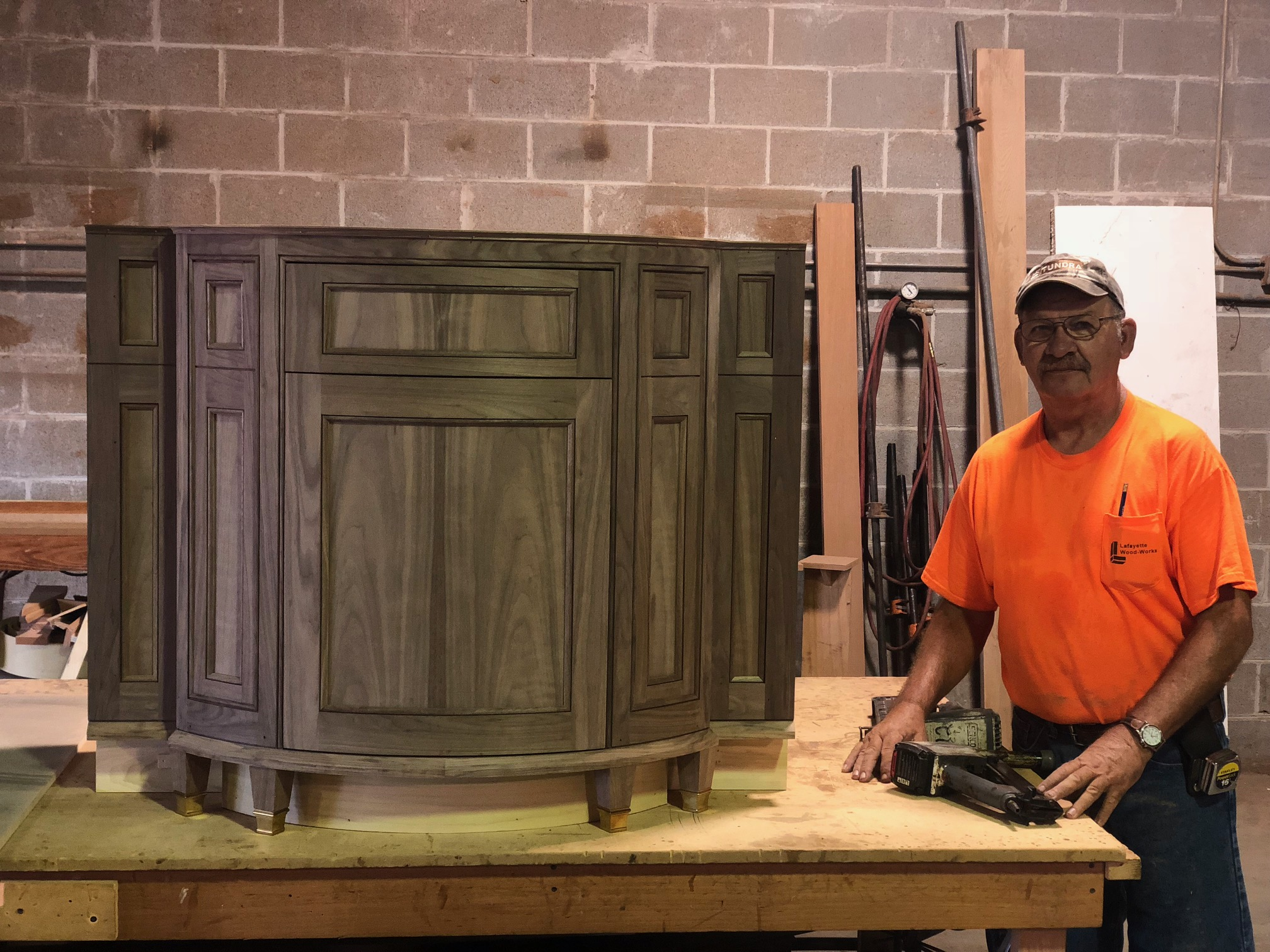 Millwork - The Lafayette Wood-Works team of craftsmen takes pride in their work and makes sure all the precise details meet your specifications.- Stock- Custom Interior- Custom Exterior- Custom Hardwood- MDF