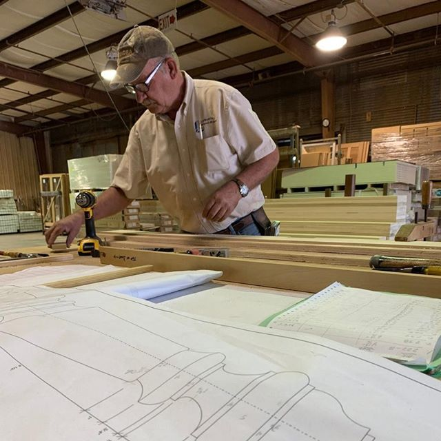 #LafayetteWoodWork's in-house estimating and #drafting departments work together to ensure we understand the customer's needs, and that orders and shop drawings meet the exact specifications you have requested for your #millwork project!