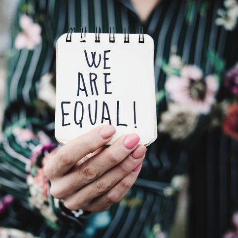 "Women's Rights + Equality - ""Gender equality is a human fight, not a female fight.""—Frieda PintoCLIENTS:Austin Women's Health CenterFund Her Network"