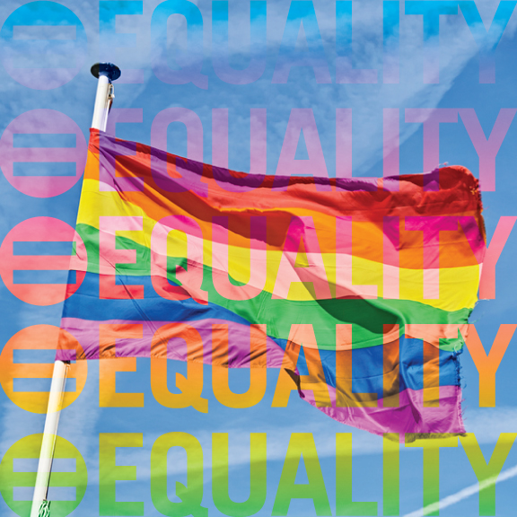 """LGBTQ Equality - From the US Declaration of Independence:""""We hold these truths to be self-evident, that all men are created equal, that they are endowed, by their Creator, with certain unalienable Rights, that among these are Life, Liberty, and the pursuit of Happiness.""""CLIENTS:The Diana FoundationHuman Rights Campaign"""