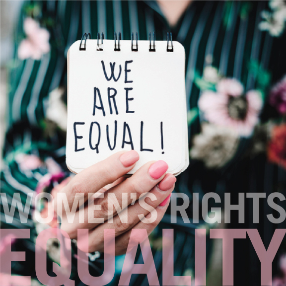 """Women's Rights + Equality - """"Gender equality is a human fight, not a female fight.""""—Frieda PintoCLIENTS:Austin Women's Health CenterFund Her Network"""