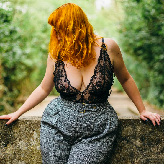 Amelia Swann:    Luxurious redhead and BBW playmate, Amelia is a a riot of curves and colour with a sharp, deviant mind and a soft, inviting body. A professional pleasure seeker & elite BDSM companion, she is based in London and available internationally.