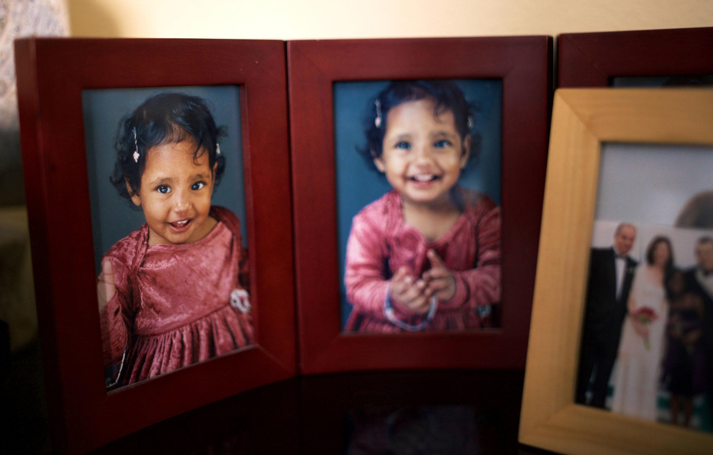 Savita age three