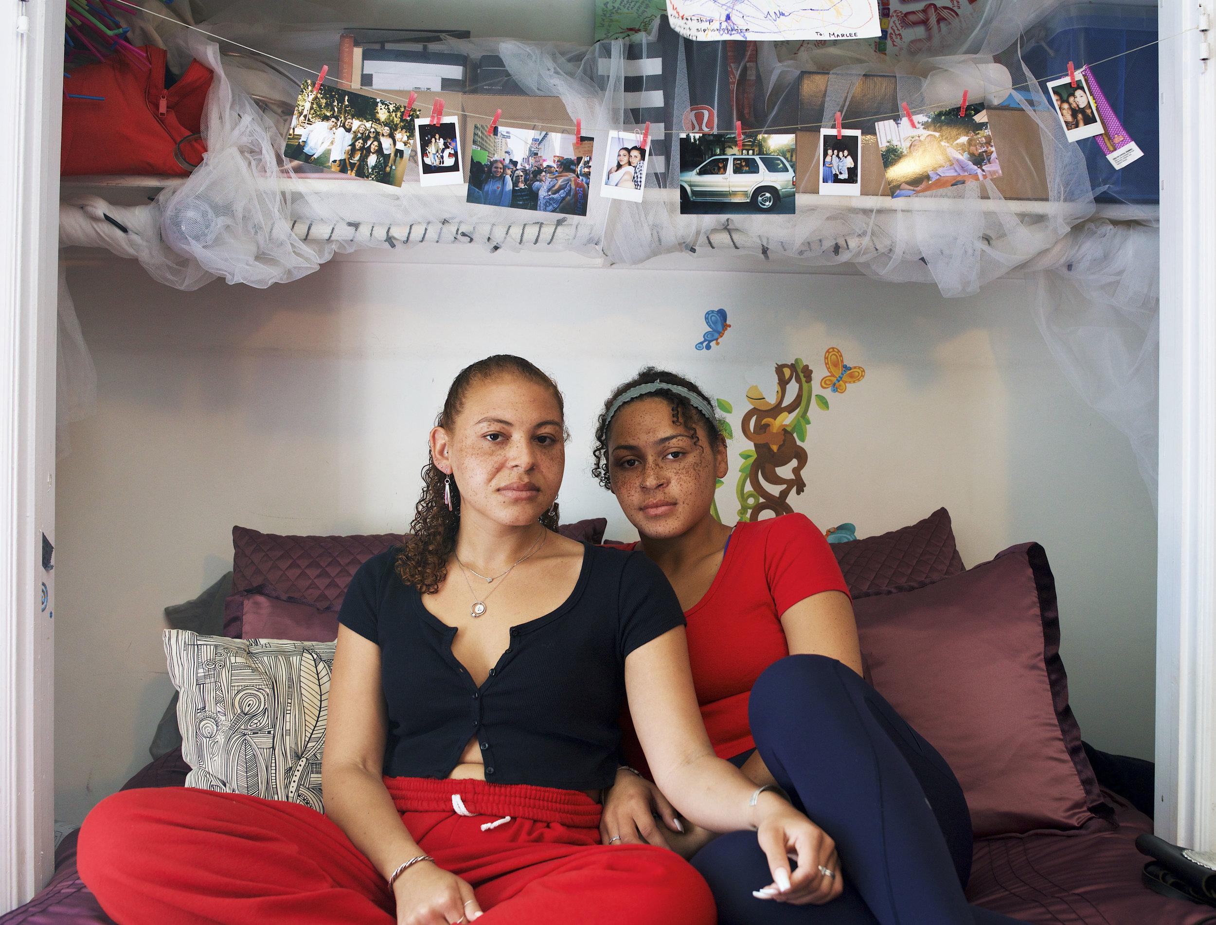 Marlee and Raegan Dyas -