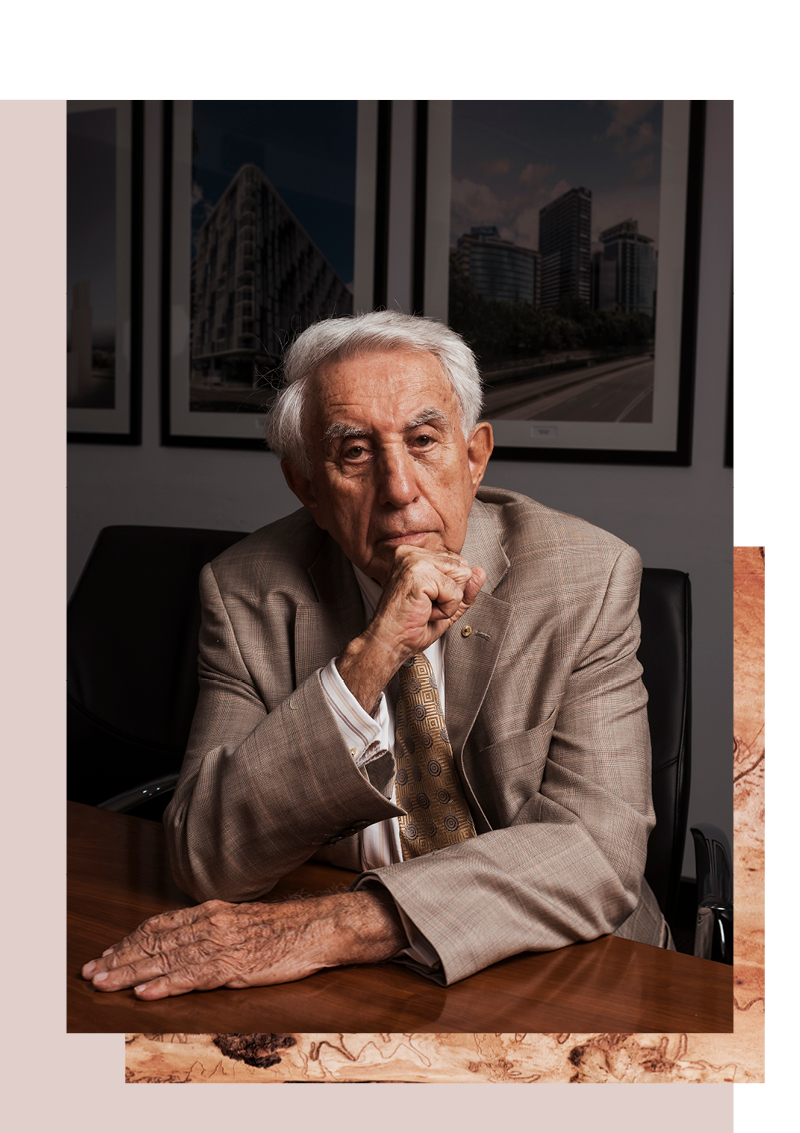 Harry Triguboff - As Founder and Managing Director of The Meriton Group of Companies, Harry Triguboff has overseen the construction of more than 75,000 residential dwellings, and has won numerous awards for his contributions to the Australian property industry.