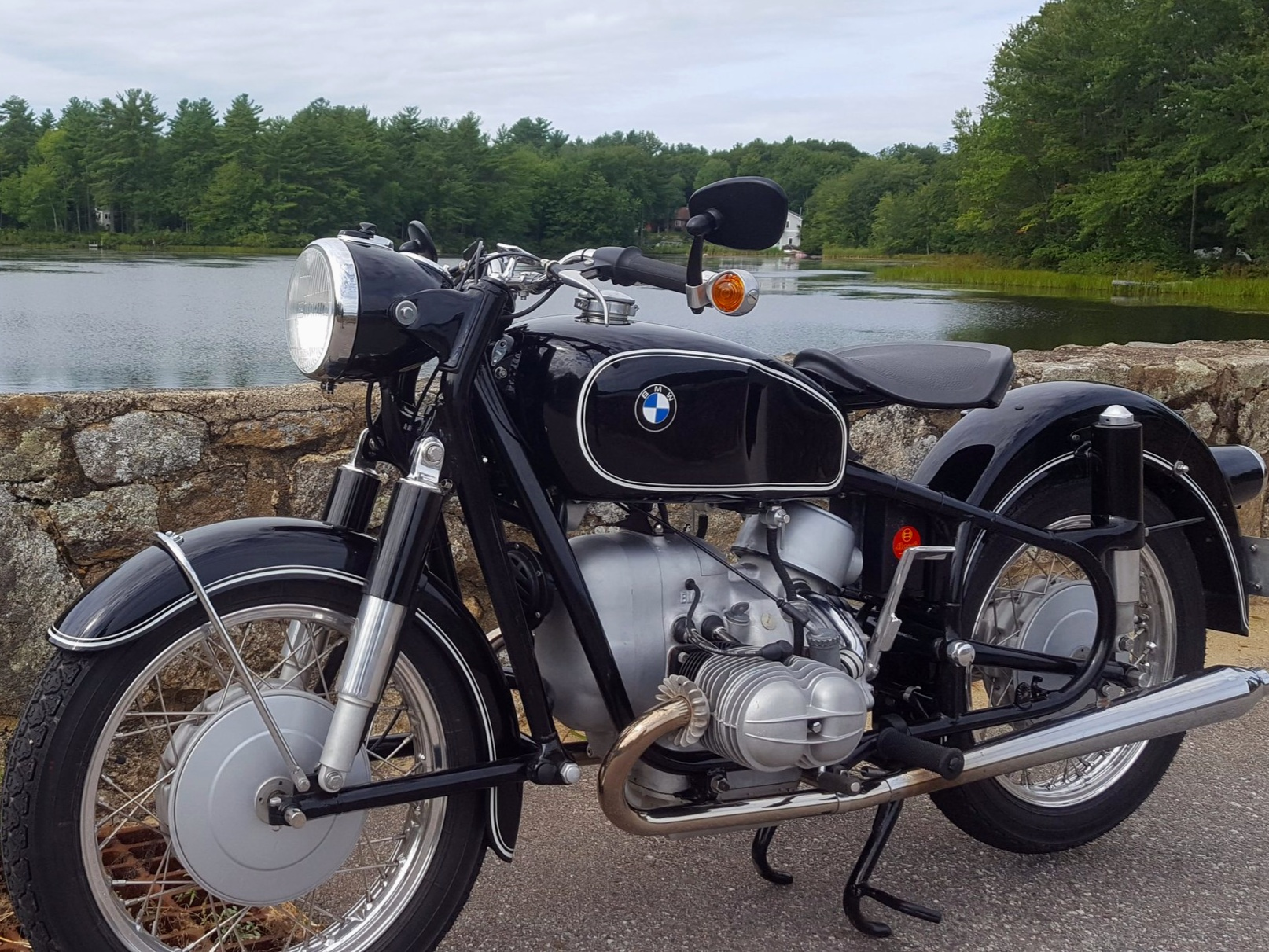 1961 R50S with custom features