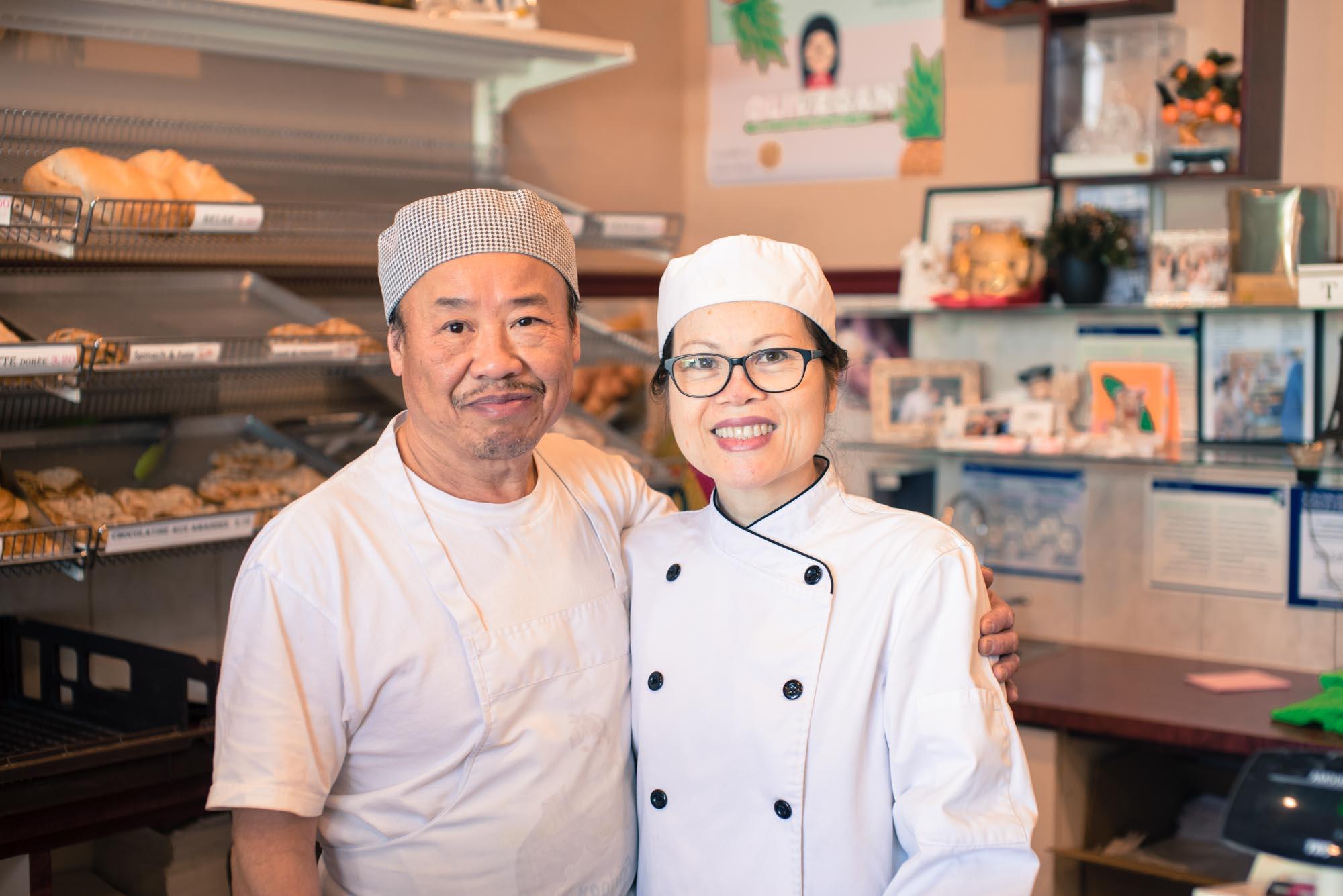 Équipe rue Watters Eam Yieng and Siu Senh