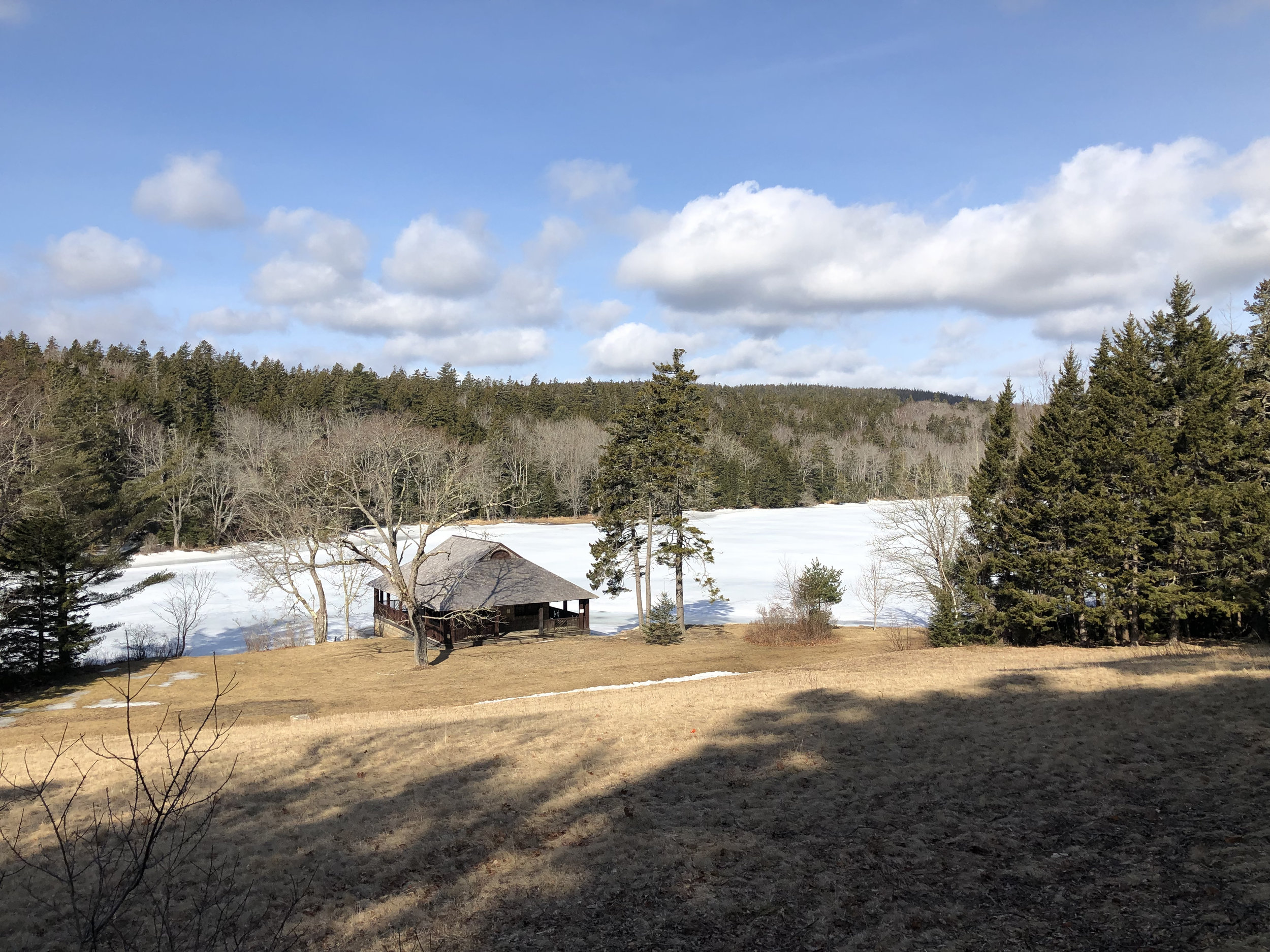 Little Long Pond, Land and Garden Reserve, Maine.