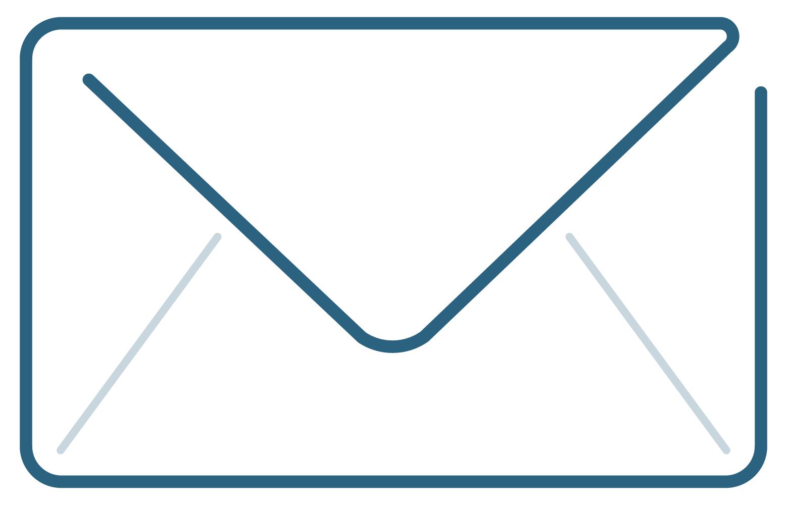 Contact envelope icon