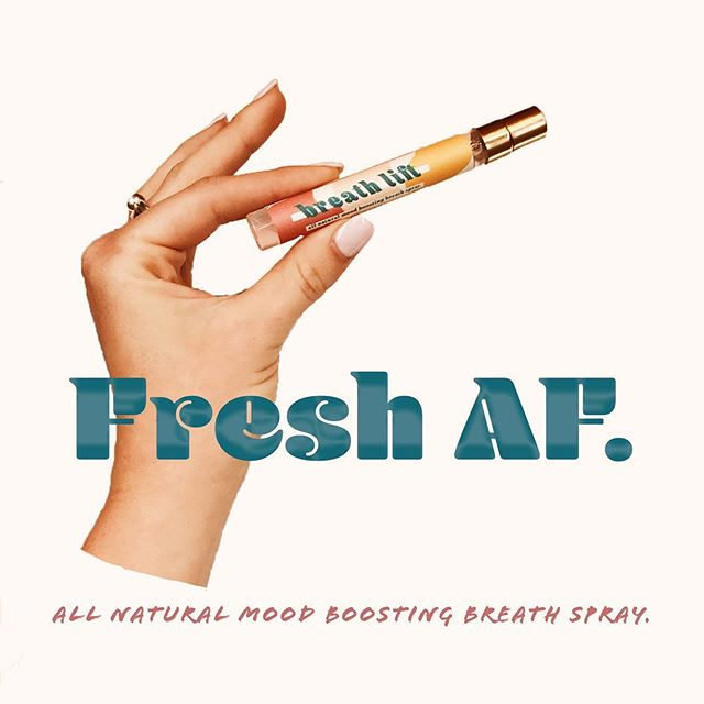 Friday FRESH 👌🏼 How fresh are you keepin it? We're keepin it Fresh AF. ⚡️ . T- 2 DAYS UNTIL THE BREATH LIFT CAN BE PURCHASED ONLINE!