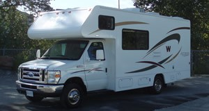 Motorhome II 24/25 ft (7,2 m) - For 2 to 5 people with all the comforts and extra space