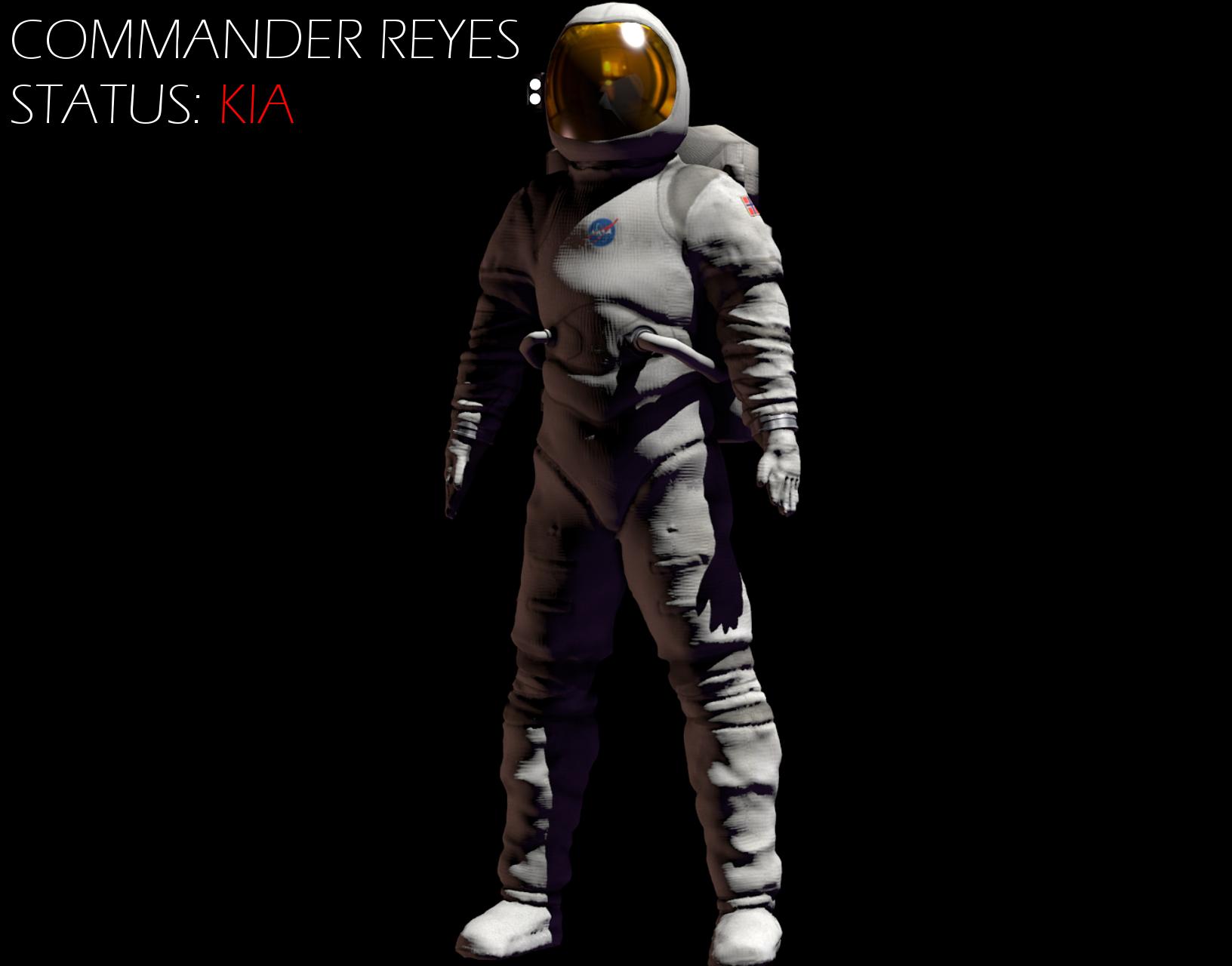 Commander Reyes Model Showcase