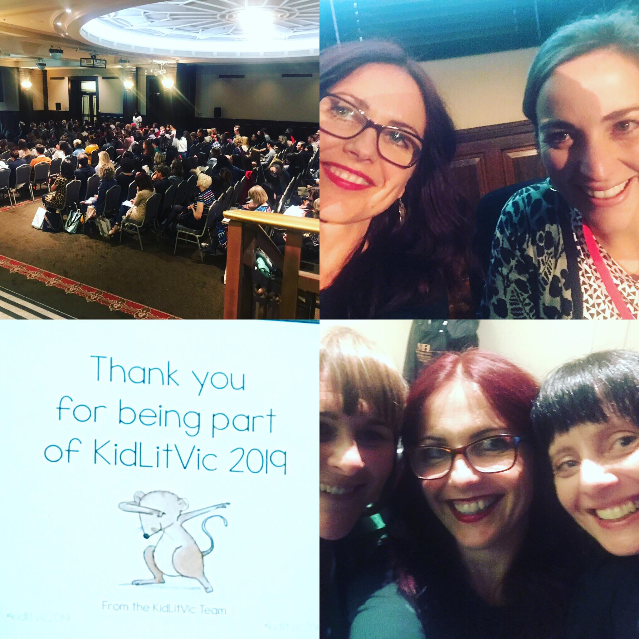 KitLitVic 2019 with Davina Bell, Julia Grasso, myself and Madeleine Jenkins.