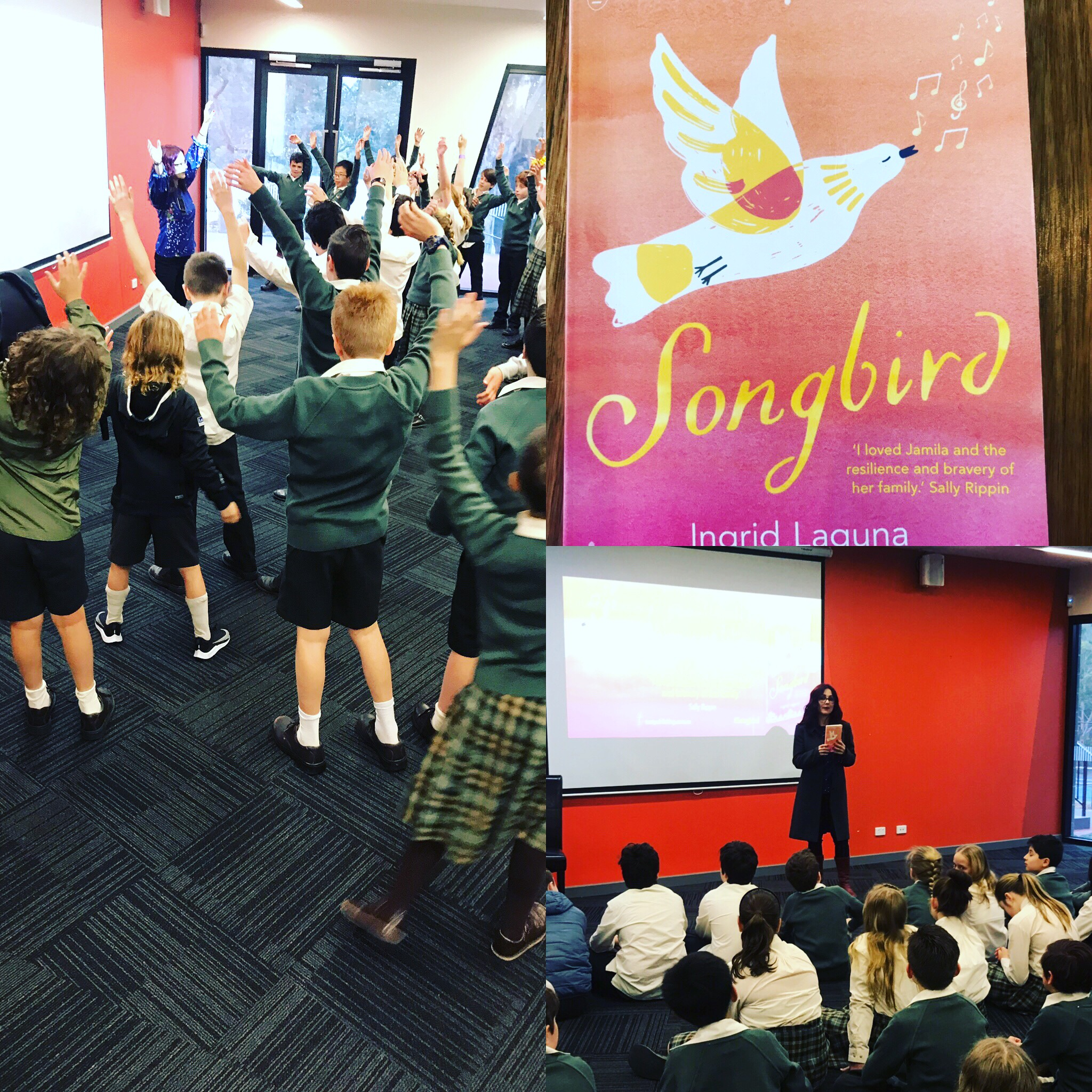 Author Visit to Eltham College for Book Week 2019