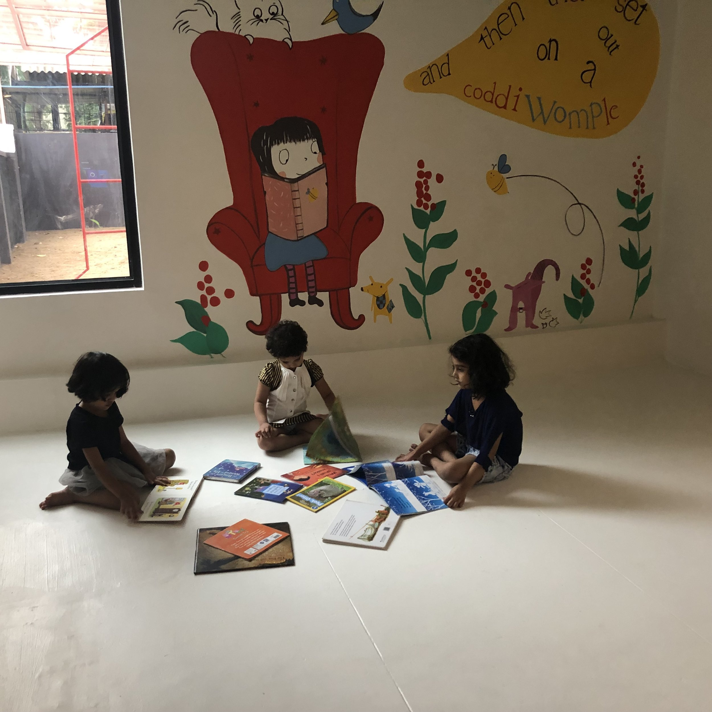 The Indoor Environment - Designed to allow and transform the room into activity zones and learning areas. The activity zones contain a variety of manipulative materials and equipment that are visually displayed or organised to encourage exploration and allow the children to use them in creative ways.