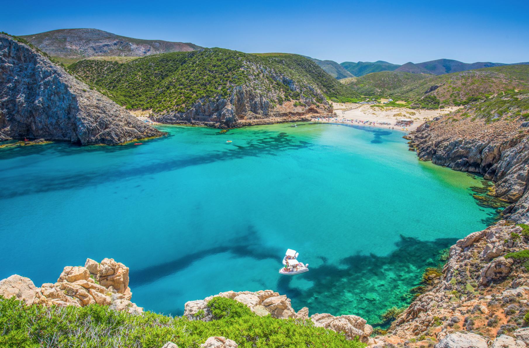 Cala Domestica Beach, Sardinia - Local Traveller