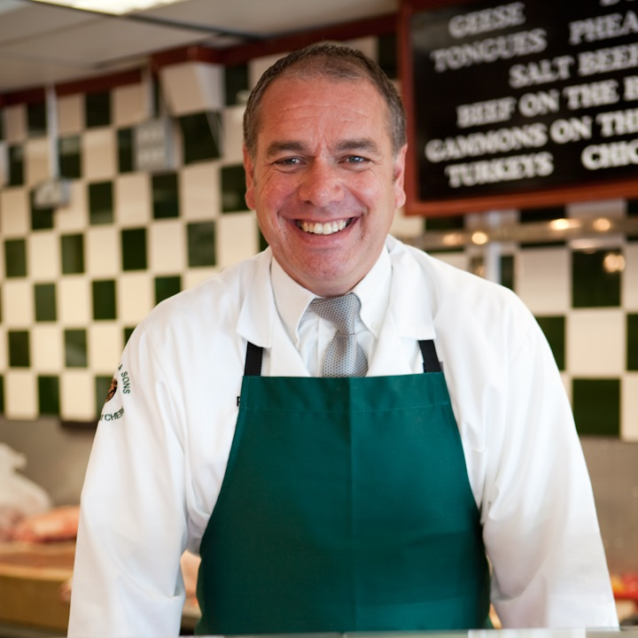 "Paul Turner, Owner, Alf Turner Butchers   Paul Turner came on Dragons' Den to present his range of award winning sausages and to seek investment and guidance to help him launch the range nationally. Paul is a traditional family butcher, as was his father and grandfather so he knows all about making a great quality sausage. His products have won numerous national awards but he has not been able to get the level of distribution that would allow a wide audience to sample his range.  Paul said ""It has been frustrating to enter and win so many awards but not to be able to get our product into the major retailers. Our sausages are made in the same way that my father and grandfather made them and our customers are always telling me that they are the best on the market but without investment and support I've not been able to build on our local success. Now with Peter's backing I'm looking forward to competing with the major high street brands.""  The tense negotiation saw Peter invest £80,000 for a third share in the business."