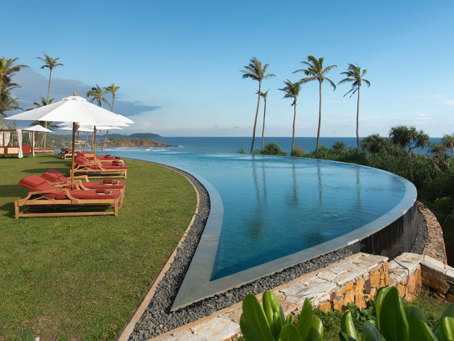 Cape Weligama,  Relais and Chateaux  luxury escape near Galle for December sun