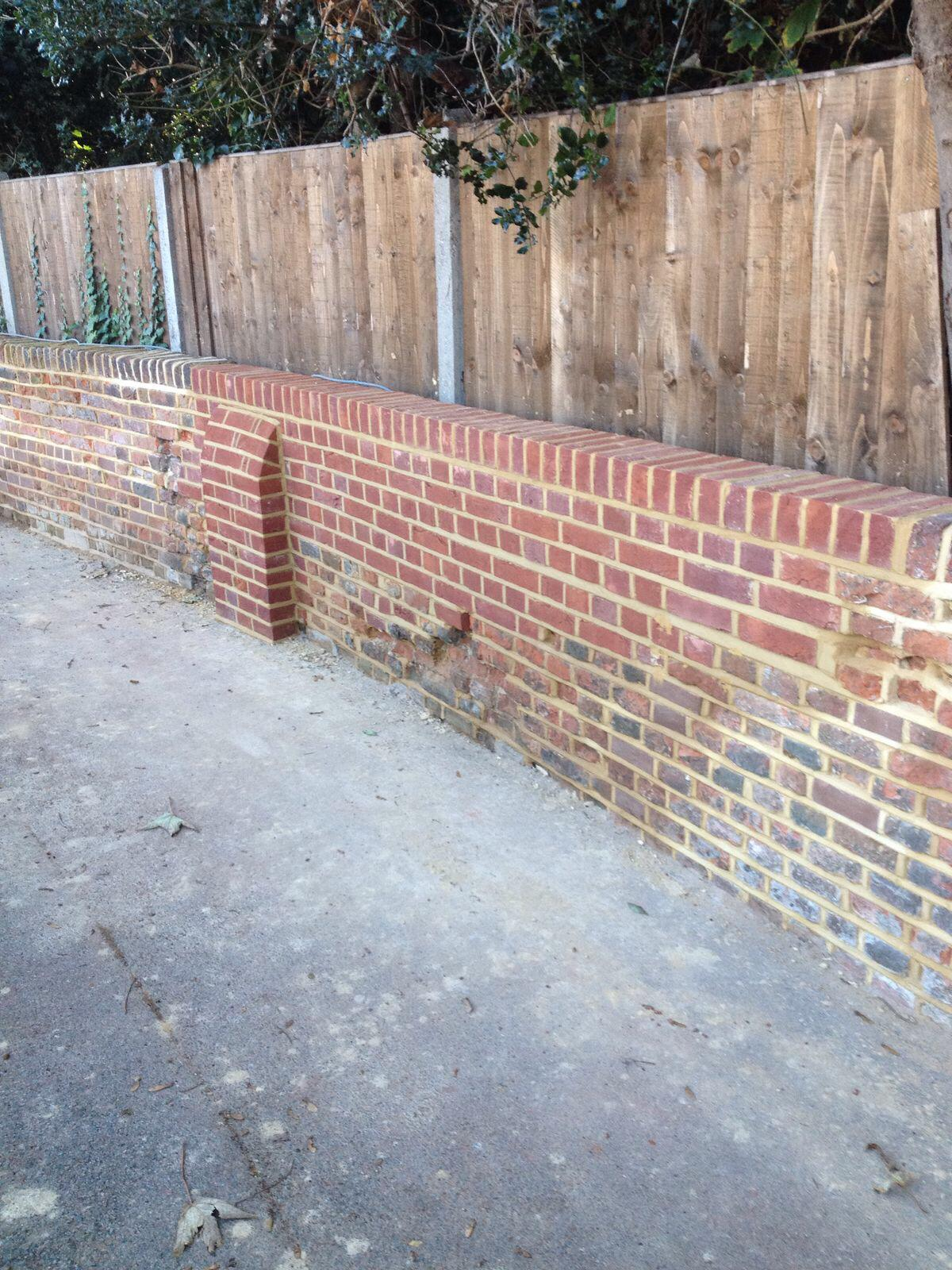Brick Restoration Project 9