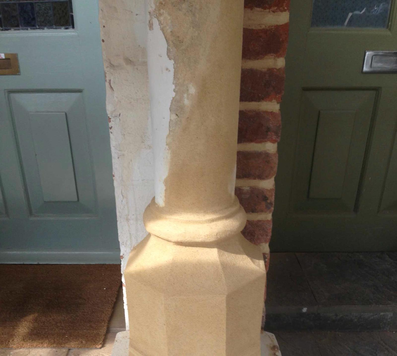 Stone Repair Project 2 - After