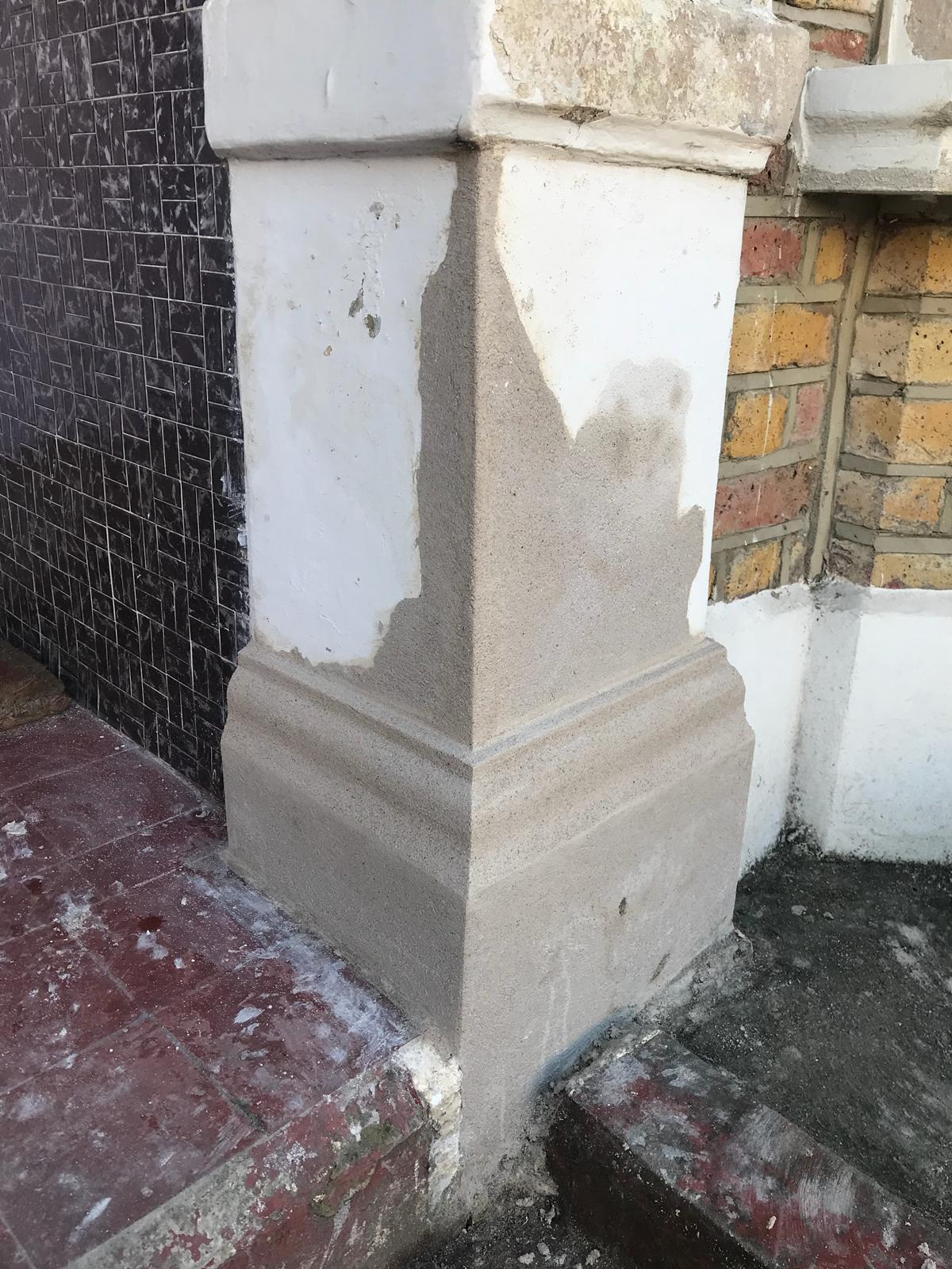 Stone Repair Project 3 - After