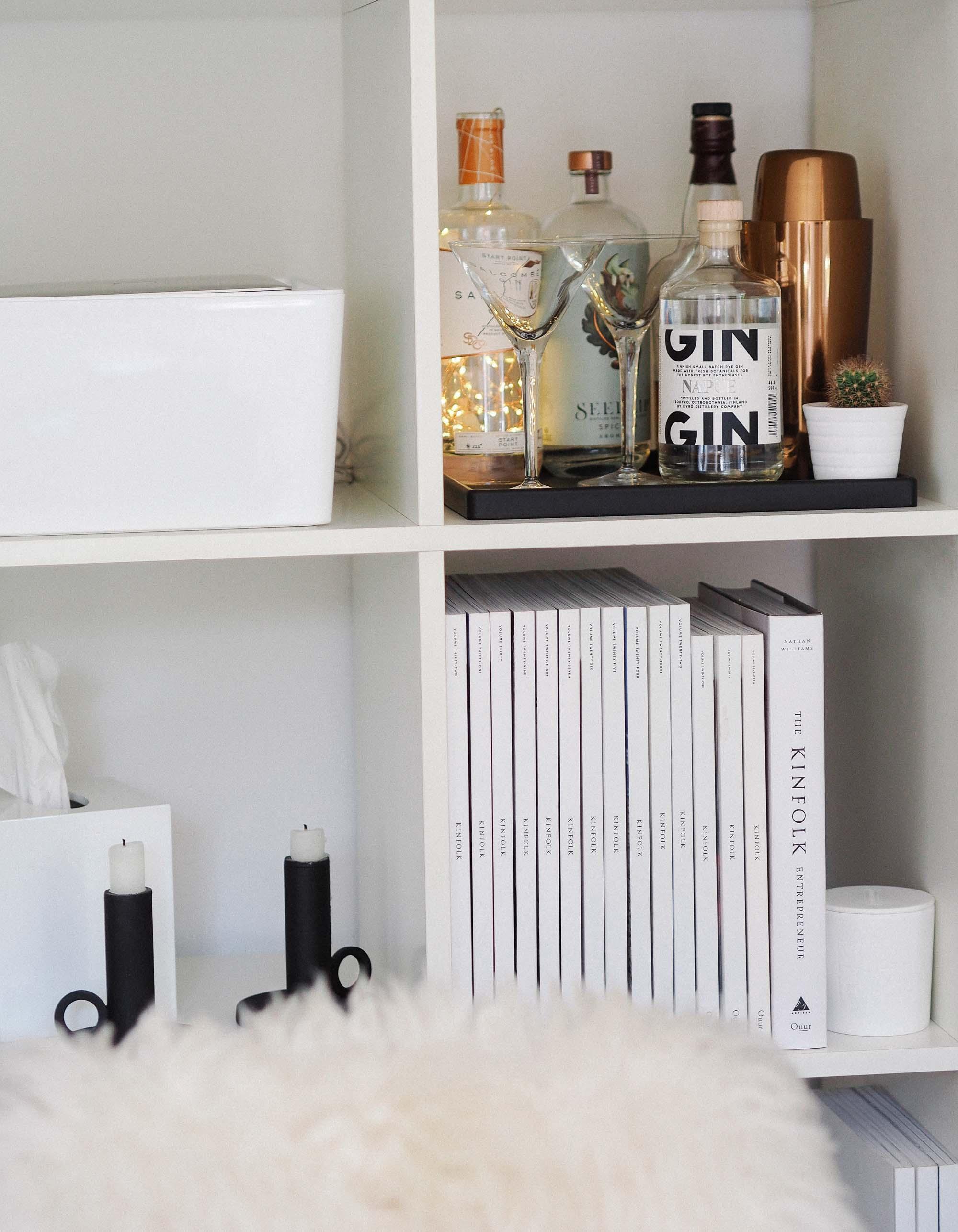5 drinks bar in IKEA bookcase.jpg
