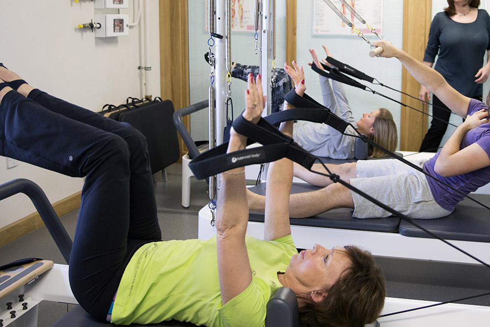 Reformer Pilates - £15-£18 per class - 55mins£18 drop-ins class. £15 per class if booking a whole term24 cancellation period—This classical piece of Pilates equipment adds variable resistance to your training. Your core & stabilising muscles will be challenged much more than regular mat work..