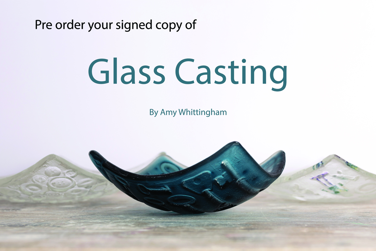 Pre-order your copy now by clicking this link :   Glass Casting