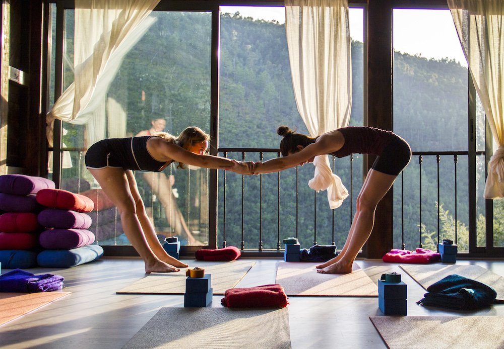 Yoga retreat with Maryrose Loxley