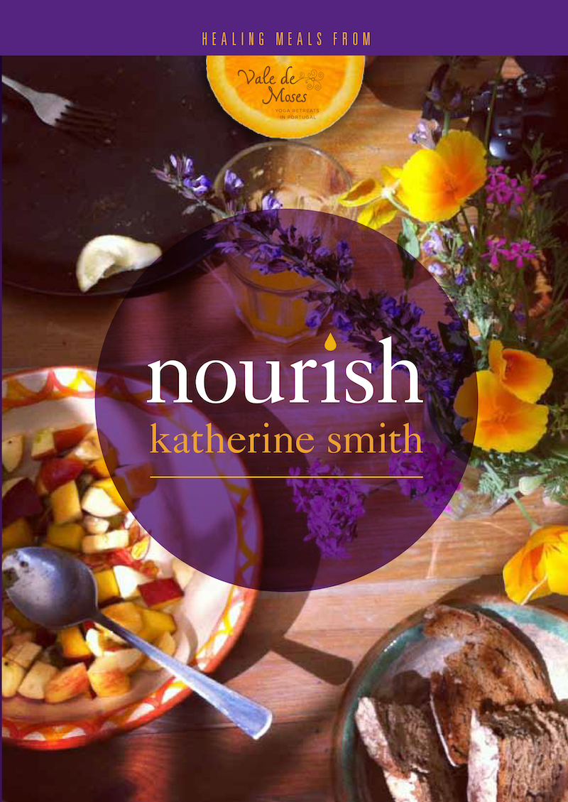 Nourish recipe book from Vale de Moses