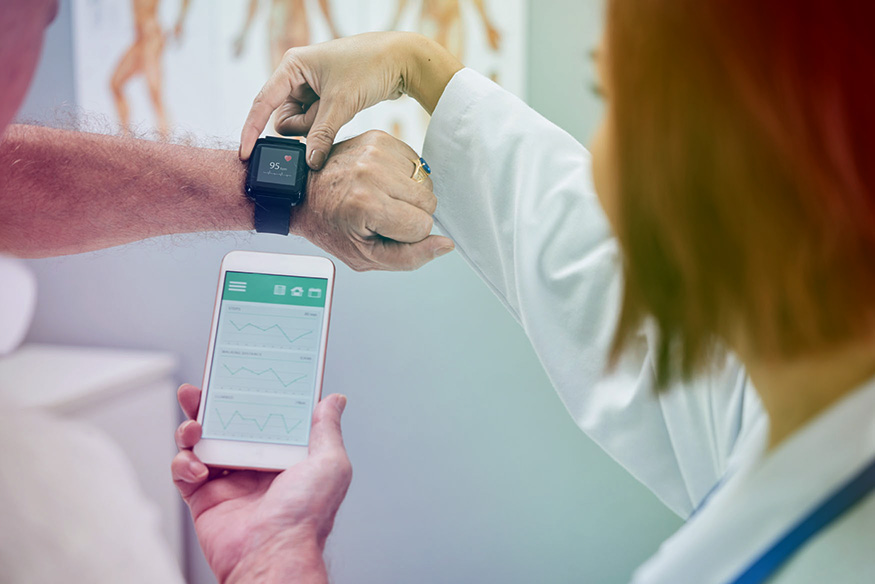 - The ability to capture real world patient data across a care pathway, combined with a closed-loop management system, enables precision care for each patient.