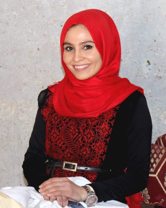 AHED - Ahed is a 26-year-old activist from Rafah, Gaza. An English Language and Literature graduate, she has worked on youth activism in Gaza for many years. She is a board member of the
