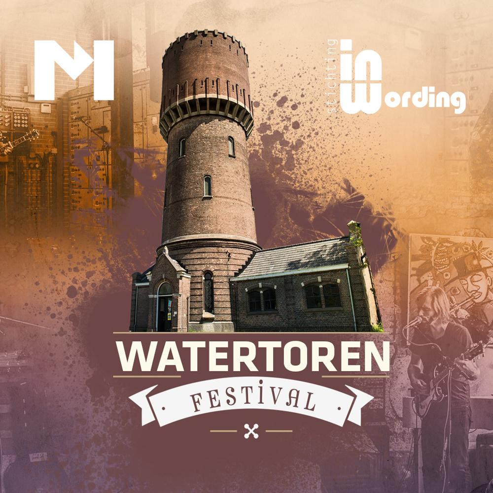 Watertoren Festival - 08-09-2019Live-muziek, poëzie en verhalen bij de Oude Watertoren