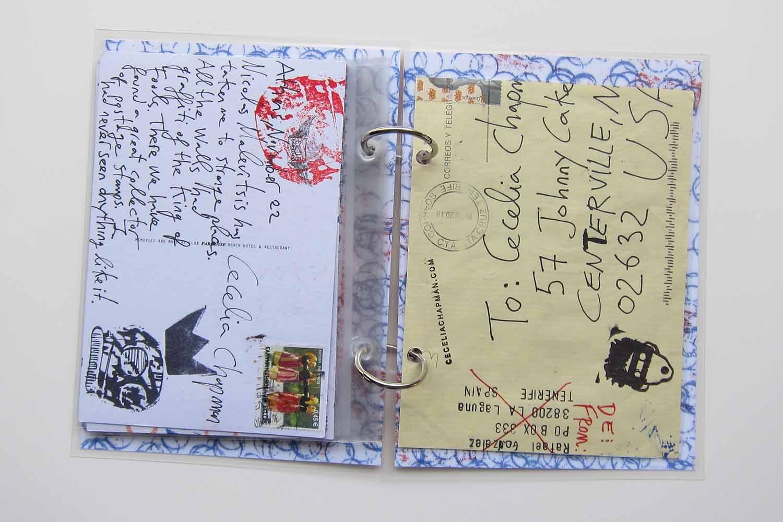 Mail collaboration book, Rafael Gonzalez